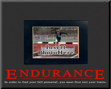 """Endurance"" Picture Frame"