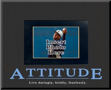 """""""Attitude"""" Picture Frame"""