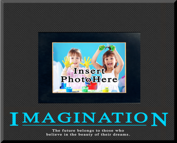"""Imagination"" Picture Frame"