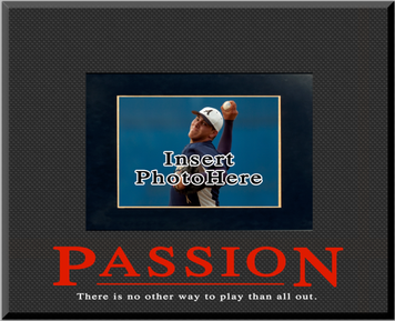 """Passion"" Picture Frame"