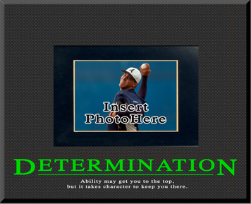 """Determination"" Picture Frame"