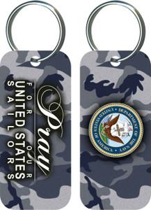 Navy  Keychain