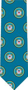 Coast Guard Pattern Tie