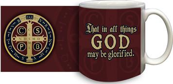Benedictine Medal Coffee Mug