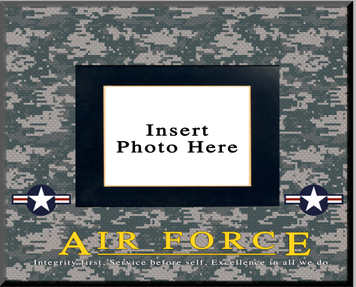 """Air Force"" Picture Frame"