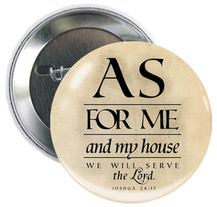 As For Me and My House Button