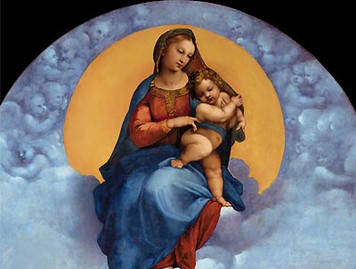 Madonna of Foligno Print