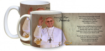 Pope Francis Arrives on Balcony with prayer Mug