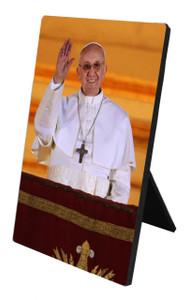 Pope Francis Desk Plaque