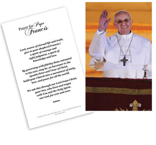 Pope Francis Holy Card Pack