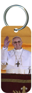 Pope Francis Rectangle Keychain