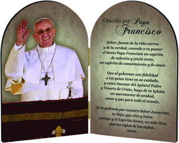 Papa Francisco Diptico