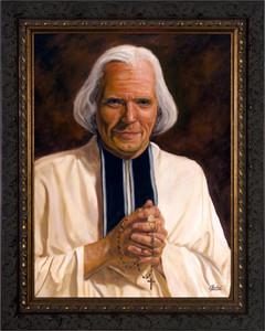 St. John Vianney by Jason Jenicke Framed Art