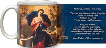 Mary Undoer of Knots General Prayer Mug