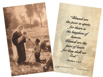 Gift of the Shepherd Prayer Holy Card