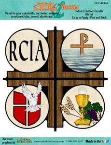 RCIA Cross Decal