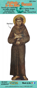 St. Francis of Assisi Decal