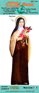 St. Therese of Lisieux Decal