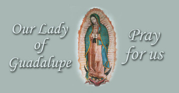 Our Lady of Guadalupe II Vinyl Bumper Sticker