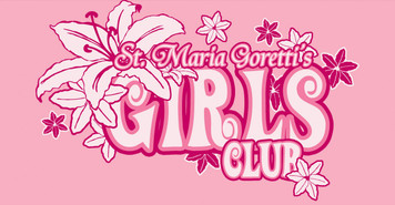 Maria Goretti Girls Club Vinyl Bumper Sticker