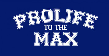 ProLife to the Max Vinyl Bumper Sticker