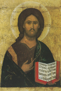 Christ the Teacher Icon Print