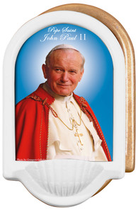 Pope John Paul II Sainthood Holy Water Font