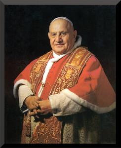 Pope John XXIII Saint Wall Plaque