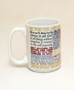 Saint Francis de Sales Quote Mug