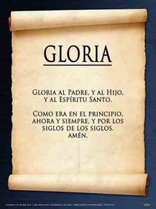 Spanish Glory Be Poster