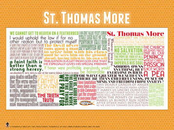 Saint Thomas More Quote Poster