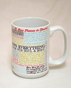 Saint Jane Frances de Chantal Quote Mug