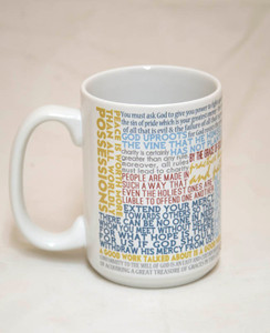 Saint Vincent de Paul Quote Mug