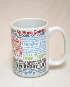 Saint Maria Goretti Quote Mug