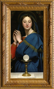 Madonna of the Host Ornate Gold Framed Art