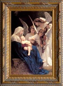 Song of the Angels - Ornate Gold Framed Art