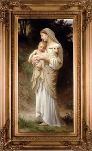 """L'Innocence 16""""x32"""" Canvas - Gold Museum Framed Art"""