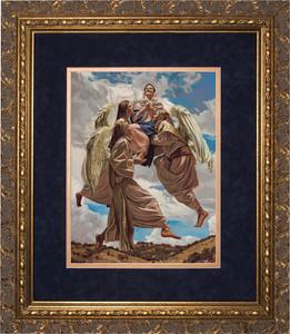 Assumption into Heaven by Jason Jenicke Matted Gold Framed Art