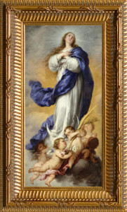 Immaculate Conception - Ornate Gold Framed Art