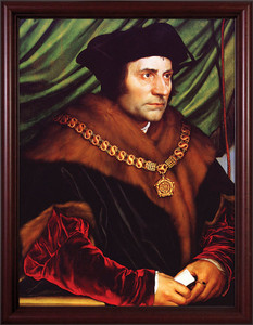 St. Thomas More - Cherry Framed Art