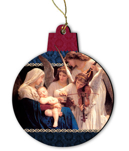 Song of the Angels Wood Ornament