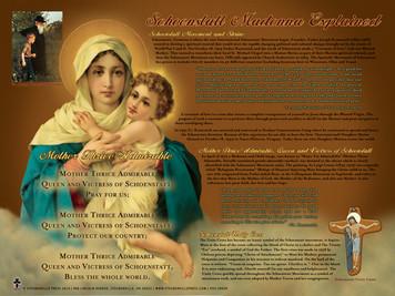Schoenstatt Madonna Explained Poster