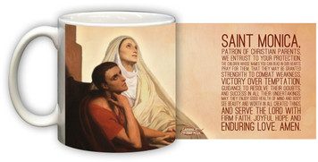 St. Monica Graphic Mug