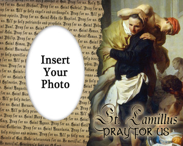St. Camillus Photo Frame