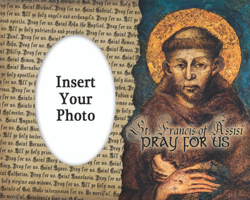 St. Francis by Cimabue Photo Frame