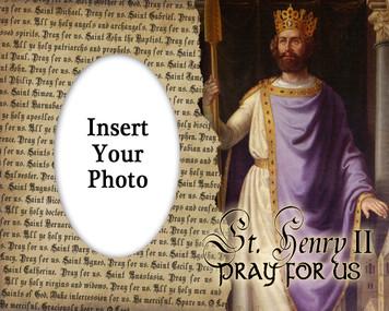 St. Henry II Photo Frame
