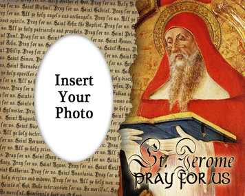St. Jerome Photo Frame
