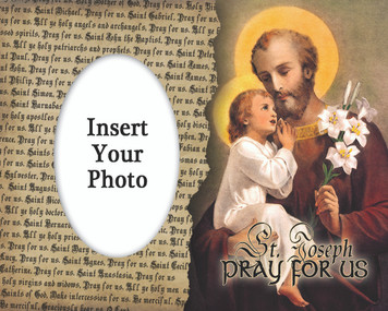 St. Joseph (Younger) Photo Frame