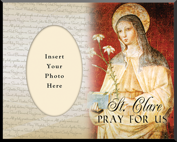 St. Clare Photo Frame