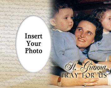 St. Gianna Photo Frame